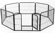 AllMyPets 56631306 Recinto per Cani Gatti Cuccioli Roditori 80x60cm 8pz