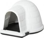AllMyPets D52554 Cuccia da Esterno Cani Taglia Piccola a Forma di Igloo Porta