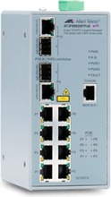 Allied Telesis AT-IFS802SPPOE(W)-80 Switch di Rete 8 Porte Gestito Fast Ethernet PoE IFS802SPPOE