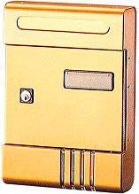 ALUBOX 01SIBR Cassetta Postale Alluminio Serratura a Cilindro Bronzo  SI
