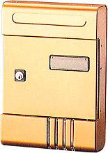 NBrand SE Castta Postale in Alluminio dimensioni 20x29x7 colore Bronzo