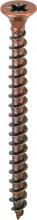 Ambrovit 05052   5,0X100 Vite Truciolare Tsp Ferro Bronzato mm 5X100 Cf 100 Pz 05052 5,0X100