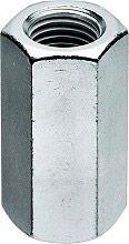 Ambrovit Giunzione Esagonale per Barre filettate M 12x19x30 Cf 50 Pz 63348