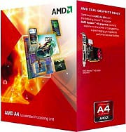 Amd Cpu ASeries APU 3.4 Ghz Socket FM2 65W 32nm Trinity Box A45300 FM2 BOX