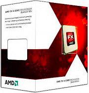 Amd Cpu Processore 4 Core 3.8 Ghz Socket AM3+ Sbloccato FD4300WMHKBOX FX-4300