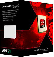 Amd Cpu Processore 8 Core 4GHz Socket AM3+ Sbloccato Boxato FD8350FRHKBOX FX8350
