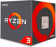 Amd YD1200BBAEBOX Processore amd quad core Ryzen Socket AM4 64 bit  Ryzen 3 1200