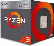 Amd YD2200C5FBBOX Processore CPU Ryzen 3 2200G 3.7 GHz Socket AM4 Radeon Vega 8