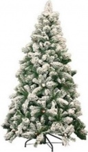 Amicasa 29910749 Alberi di Natale Germogliato innevato Cm 210 299.10749