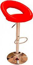 Amicasa 2-28 Sgabello bar cucina Regolabile Ecopelle colore Rosso -  Dream