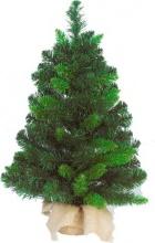 Amicasa 8296 Alberi di Natale Pinetto con base iuta Cm 45 00
