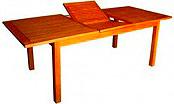 Amicasa Art 29 Tavolo da Giardino Allungabile in Legno 180240x100  Linz
