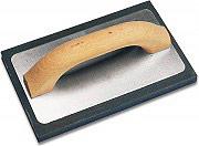 Ancora Frattazzo con Spugna grana medio-fine 21x13 cm manico legno 8191-1808503