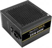 Antec 0-761345-11682-4 Alimentatore PC 600w PFC Attivo ATX 2.4 con Ventola Nero Antec Zen NE600G