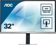 Aoc Q3277PQU Monitor PC 32 Pollici Quad HD HDMI VGA