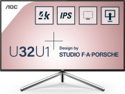 "Aoc U32U1 Monitor PC 31.5"" 4K Ultra HD VGA HDMI DisplayPorts USB UM.QB7EE.004"