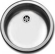 Apell Lavello Cucina Incasso 1 Vasca Tondo Rotondo 43.5 cm Acciaio FI435VIBC