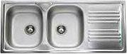 Apell TM1162IRPC Lavello Cucina Incasso 2 Vasche Gocciolatoio 116cm Acciaio Inox