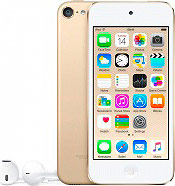 "Apple iPod Touch Lettore Mp3 Mp4 64GB 4"" Touch WiFi Bluetooth iOS 8 MKHC2BTA"