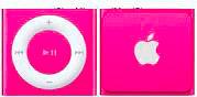 Apple iPod shuffle Lettore MP3 2 GB colore Rosa - MKM72BTA