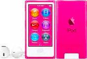 """Apple iPod Nano Lettore Mp3 Mp4 16 GB 2.5"""" Touch Bluetooth Col Rosa MKMV2QLA"""