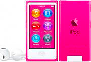 "Apple iPod Nano Lettore Mp3 Mp4 16 GB 2.5"" Touch Bluetooth Col Rosa MKMV2QLA"