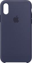 Apple MRW92ZMA Cover Custodia in Silicone per iPhone Xs Blu Notte