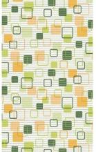 Aquamat 466-2 Tappeto Multiuso in PVC 65 cm x 15 mt fantasia quadrati