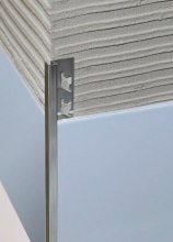 Arcansas 73009 Profilo Alusquare Alluminio Sat. mm 10 H. cm 250 Pezzi 5