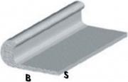 Arcansas BLGHU2298 Profilo Cromo H.200 Unghietta 18x1 Pezzi 5