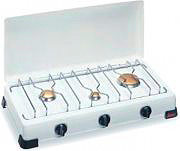 Ardes Fornello a gas 3 fuochi Potenza 4200 Watt col Bianco - 9S03FM
