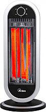 Ardes Stufa elettrica al Carbonio Infrarossi 900W Oscillante AR4B01 Tizzo