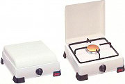 Ardes AR9S01PG Fornello a Gas GPL 1 Fuoco con Coperchio colore Bianco
