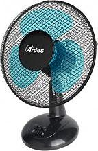 Ardes AR5EA40 Ventilatore da Tavolo a Pale 40 cm Oscillante 3 Velocità Nero - Easy 40