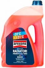 Arexons 8014 Antigelo Auto Radiatore pronto alluso fino a -20° 4.5 litri  Rosso