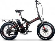 Argento AB-BF-R20 Bicicletta elettrica E-bike 250W max 70 km 25 kmh Rosso