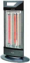 Argo Ambient Stufa elettrica carbonio 1000 Watt Oscillante Antracite