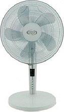 Argo TABLO Ventilatore da Tavolo 5 Pale 40 cm Telecomando Timer Bianco