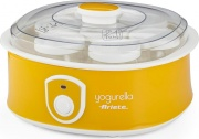 Ariete 0617 Yogurtiera Macchina Yogurt 20W 7 Vasetti in Vetro Giallo  Yogurella