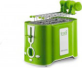Ariete Tostapane per Toast 2 Fette 500W 6 Livelli cottura Verde Tostì - 124