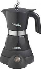 Ariete 1358 Moka elettrica 24 tazza Macchina caffè Nero  Moka Aroma