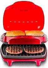 Ariete Bistecchiera elettrica Doppia piastra Hamburger Maker Party Time