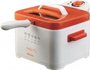 Ariete 4611 Friggitrice elettrica 2000W Capacità olio 2,5 Lt  Easy Fry Arancione