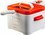Ariete Friggitrice elettrica 2000W Capacità olio 2,5 Lt 4611 Easy Fry Arancione