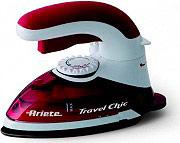 Ariete Ferro da stiro da Viaggio 800W Manico pieghevole 6224 Travel Chic