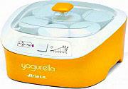 Ariete Macchina per fare lo Yogurth 20W 1Lt 6 vasetti in vetro Yogurella 626
