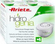 Ariete Confezione n° 4 Filtri Caraffa Hidrogenia 730010 filtro Hidrogenia