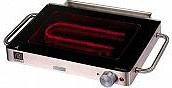 Ariete Barbecue elettrico da Tavolo Bistecchiera elettrica 800 W Yaki grill 798