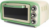 Ariete 97904 Forno Fornetto Elettrico 18 Lt 1380W Timer Verde  Vintage