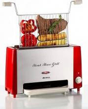 Ariete STEAKHOUSE - 730 Bistecchiera Griglia Verticale 1300 Watt Timer - Steak House Grill 730